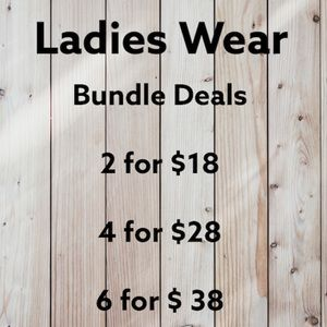 Look for items marked 2/$18 🛍Bundle Deals🛍